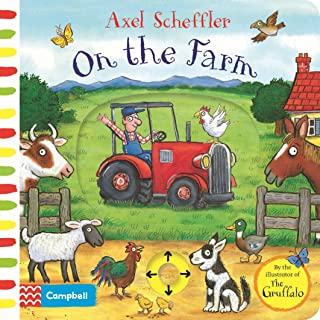On the Farm: A Push, Pull, Slide Book