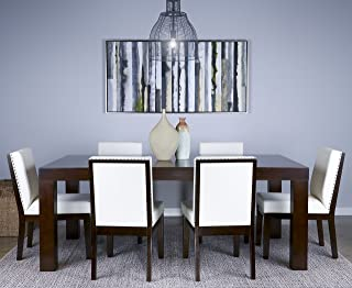 Standard Furniture 10566 Couture EleganceTable Dining W/18inleaf Table, Brown