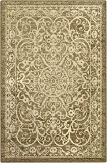Maples Rugs Pelham 5 x 7 Large Area Rugs [Made in USA] for Living, Bedroom, and Dining Room, Khaki