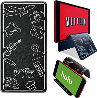Travel Gifts Flex Flap Cell Phone Holder & Tablet Stand for Desk, Car, Bed, Home and in-Flight Airplane Travel Accessories...