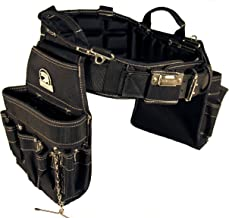 Gatorback B240 Electrician's Combo With Pro-Comfort Back Support Belt. Heavy Duty Work Belt (Medium 31-35 Inches)