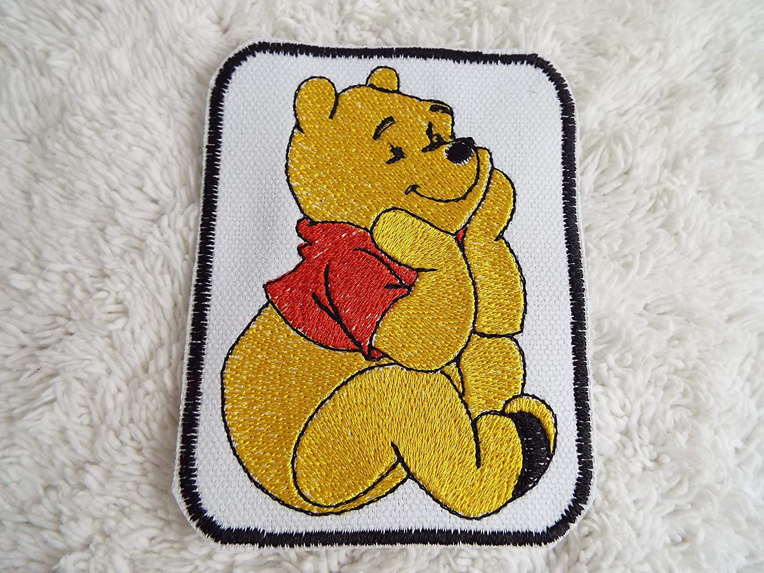 Gold Regular dealer Pooh Bear Embroidered On Iron Patch Cheap mail order sales