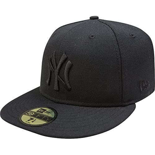 New York Yankees Black On Black 59FIFTY Cap   Hat 89f4d5bb01d