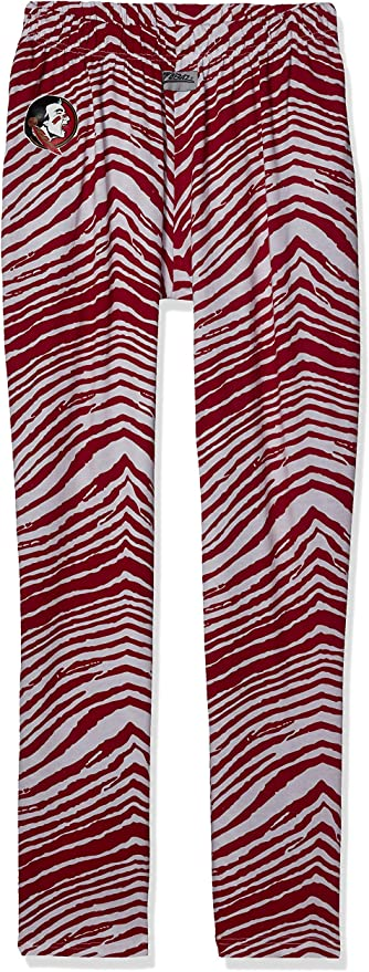 Zubaz Officially Licensed NCAA Mens Solid Zebra Hoodie Team Color