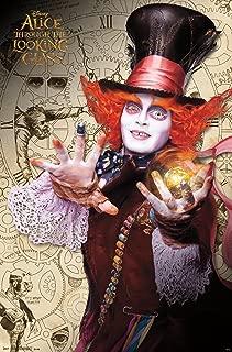 Trends International Alice in Wonderland 2 Mad Hatter Wall Poster 22.375