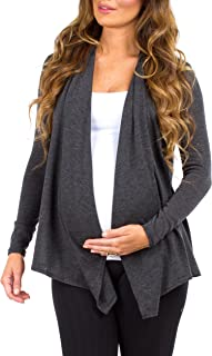 Rags and Couture Women's Hacci Maternity and Nursing Cardigans Made in USA