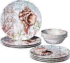 Certified International Sanibel Melamine 12 pc Dinnerware Set