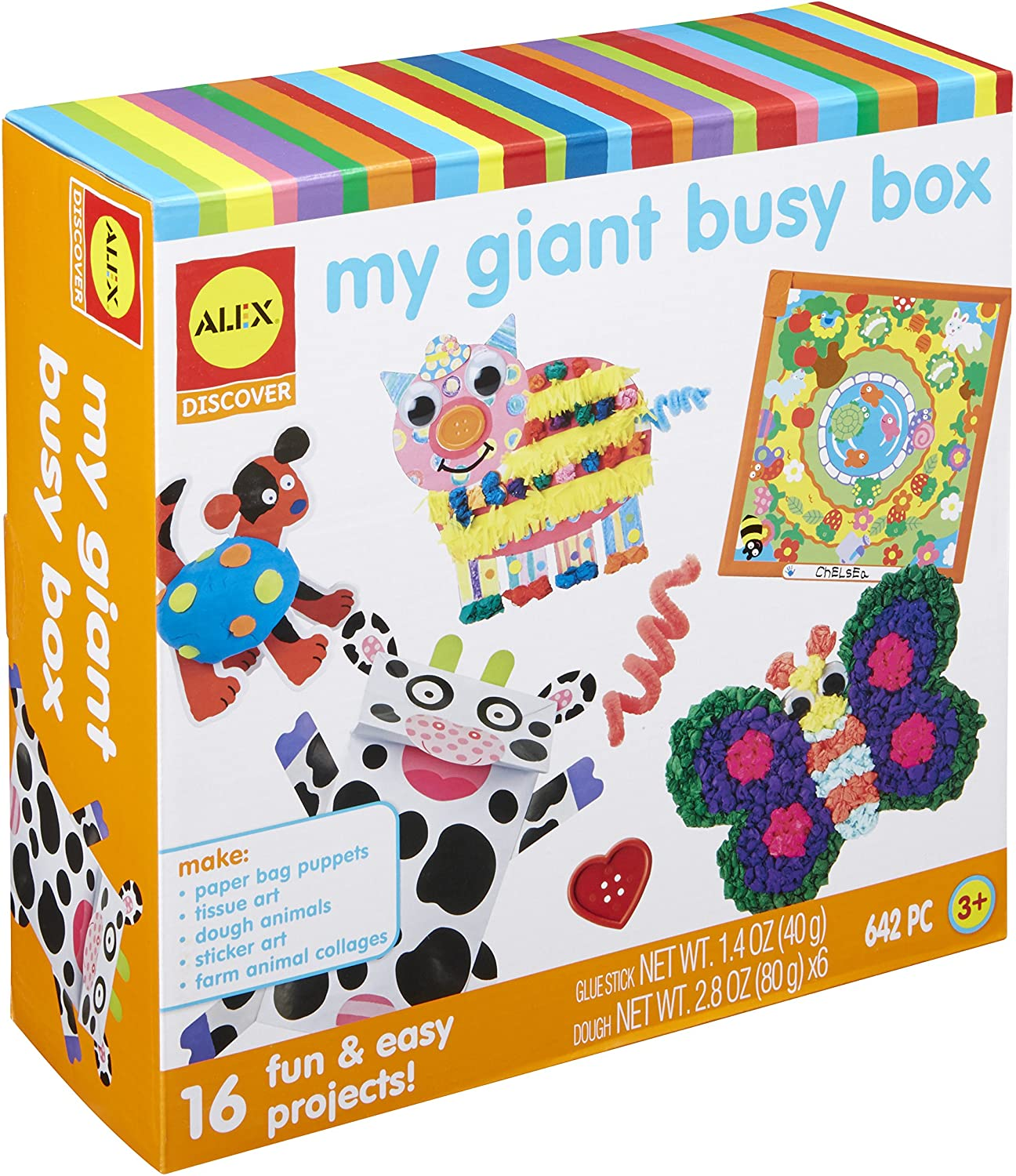 ALEX Toys My OFFicial shop Giant Busy Box Kit Craft Art NEW before selling Activit and Kids