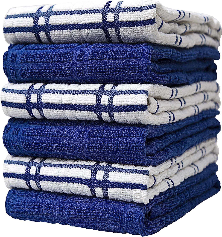 "Premium Kitchen Towels 16""x 26"" Pack 6 Large Max 89% OFF Albuquerque Mall –"
