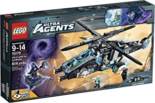 LEGO Ultra Agents UltraCopter vs. AntiMatter Toy