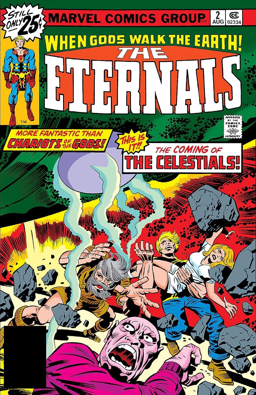 汚れる壊す経歴Eternals (1976-1978) #2 (English Edition)
