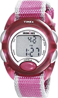 Timex Kids' T7B9809J IronKids Translucent Pink Resin...