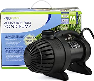 Aquascape 91018 AquaSurge 3000 GPH Submersible Pump for Ponds, Waterfalls and Streams (Renewed)