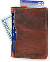 mission leather wallet