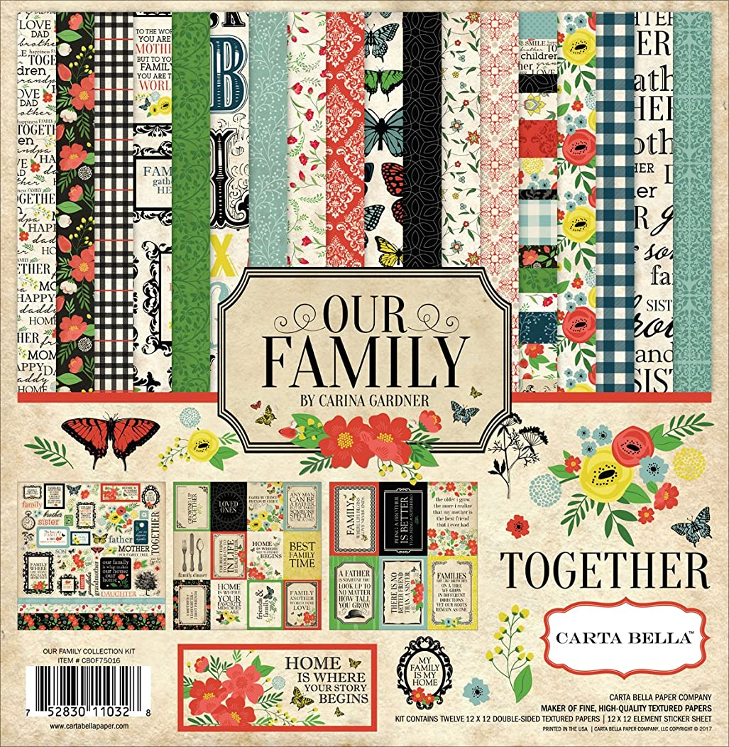 Carta Bella Paper Company Our Our Family Collection Kit