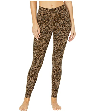 Hard Tail High-Rise Ankle Leggings (Hickory) Women