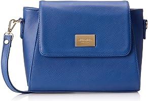 Club Aldo Faux Leather Flap-Front Crossbody Bag for Women
