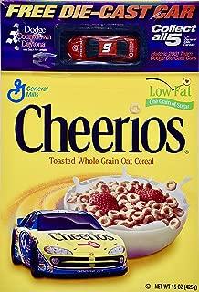 2001 - NASCAR/General Mills - Bill Elliott #9 - Cheerios Box - Dodge Intrepid R/T Die Cast 1:64 Scale - Collectible - Rare