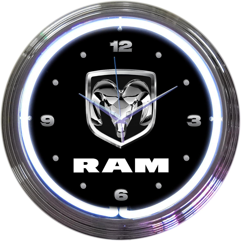 Denver Mall Manufacturer direct delivery Ram Neon Clock