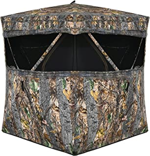 Tangkula 3 Person Pop up Ground Blind, Portable Hunting...