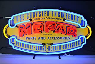 Neonetics 5MPRVS Car and Motorcycles Mopar Vintage Shield Neon Sign, 17