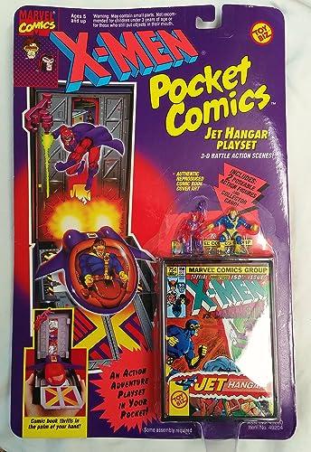 hasta un 60% de descuento X-Men X-Men X-Men Pocket Comics Jet Hangar Playset by Toy Biz  Tienda de moda y compras online.