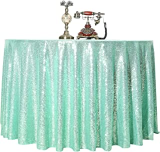 Sequin Tablecloth Round 120