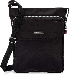 NeatPack Unisex RFID Nylon Small Crossbody Shoulder Bag