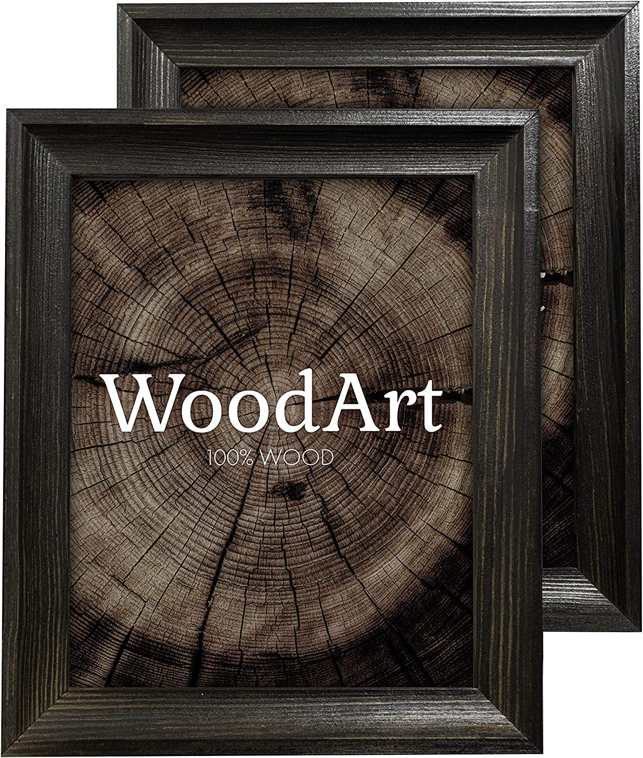 Inventory cleanup selling sale GreenWoodenArt Wood Picture Sales Frames 8x10 – of 2-100% Na Pack