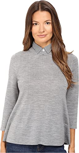 Collared Relaxed Sweater