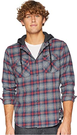 Good Hombre Hooded Flannel