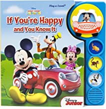 Disney Junior Mickey Mouse Clubhouse - If You're Happy and You Know It Sound Book - PI Kids
