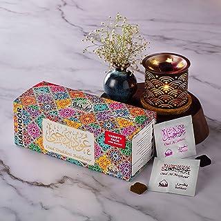Dukhni Oud Bakhoor Dukhni Oud Bakhoor Incense Variety Box (20 Pieces) & Rainbow Exotic Bakhoor Burner - Gift Set & Starter...