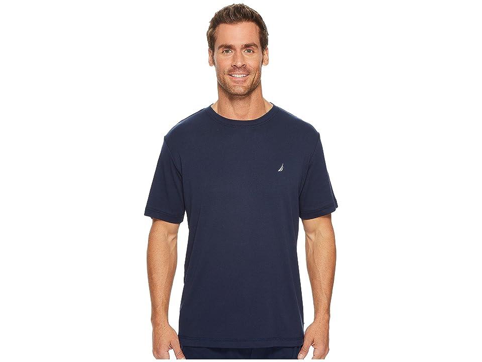 Nautica Knit Sleep T-Shirt (Maritime Navy) Men