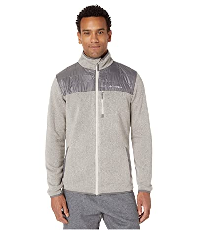 Columbia Canyon Pointtm Sweater Fleece Full Zip (Dark Stone/City Grey) Men