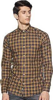 Allen Solly Men's Checkered Regular fit Casual Shirt