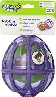 PetSafe Busy Buddy Kibble Nibble S, Interactive Meal Dispensing Dog Toy, Feeder Ball for Small Dogs