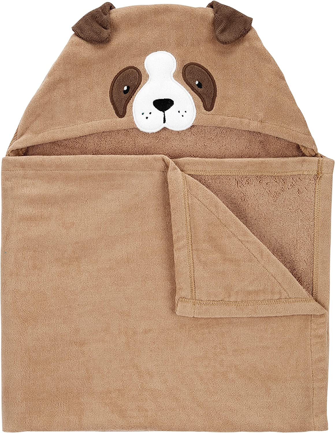 Carter's Unisex Baby Animal Hooded Absorbent Terry Towel (Puppy)