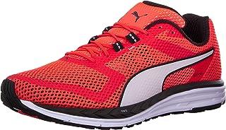 حذاء الجري Speed 500 Ignite للرجال من Puma أحمر / بوما أبيض / بوما أسود 9 D(M) US