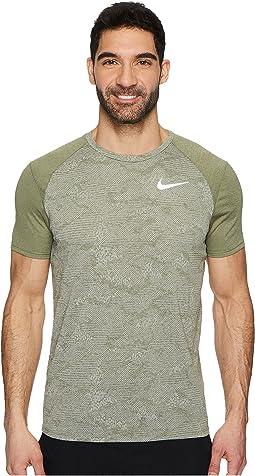 Dry Miler Short-Sleeve Running Top