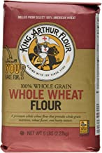 King Arthur Flour Flour Premium 100% Whole Wheat 5 Lb 2 Packs