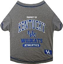 Pets First NCAA Kentucky Wildcats Dog T-Shirt, Medium