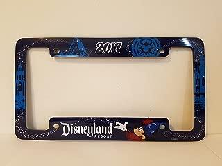 Disneyland Resort 2017 License Plate Cover Frame