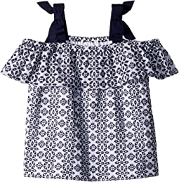 Janie and Jack Sleeveless Eyelet Top (Toddler/Little Kids/Big Kids)