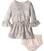 Splendid Littles - Python Print Loose Knit Dress (Infant)