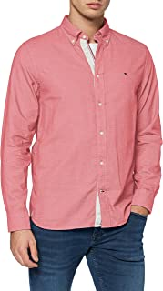 Tommy Hilfiger Melange Dobby Shirt Camisa para Hombre
