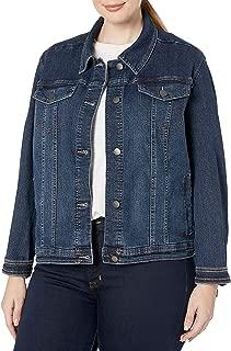 Best women's plus size denim jacket Reviews