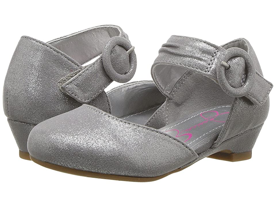 Jessica Simpson Kids Tiana (Toddler) (Silver) Girl