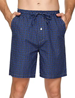 Hawiton Pantaloncini Uomo Pantaloncini Pigiama da Uomo Pantaloncini Uomo Cotone Pantaloncini Casual da Uomo Pantaloncini S...