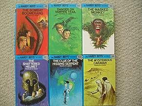 Hardy Boys Set 49-54 (Bombay Boomerang ~ Danger on Vampire Trail ~ Masked Monkey ~ Shattered Helmet ~ Clue of the Hissing Serpent ~ Mysterious Caravan)